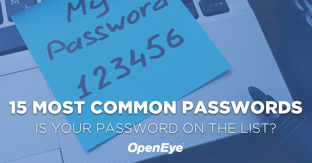 The 15 Most Commonly Used Passwords That You Shouldn't Use